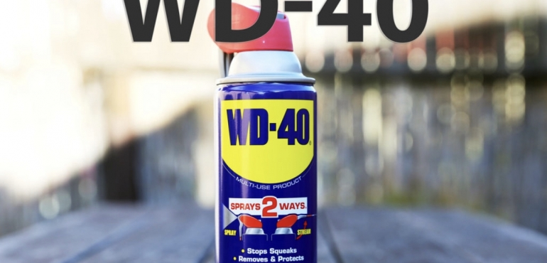 14 unusual uses for WD-40